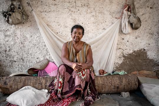 Daddy [Malagache for Grandmother], Tulear, South West Madagascar 2015 ©