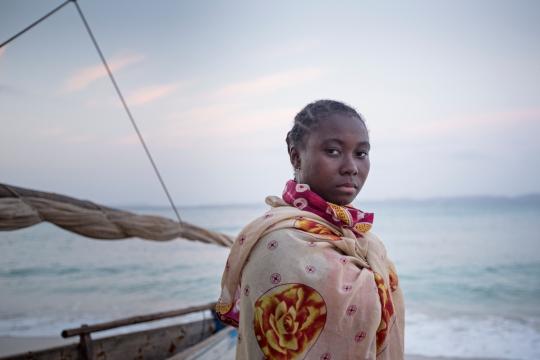 Fisherwoman, Nosy Berafia, North West Madgascar 2015 ©