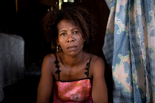 Escort Lady, Analalava, West Madagascar 2015 ©