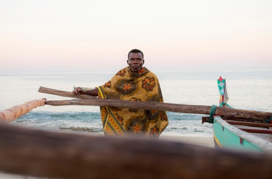 Boat captain. Andavadoaka, Madagascar 2017 ©
