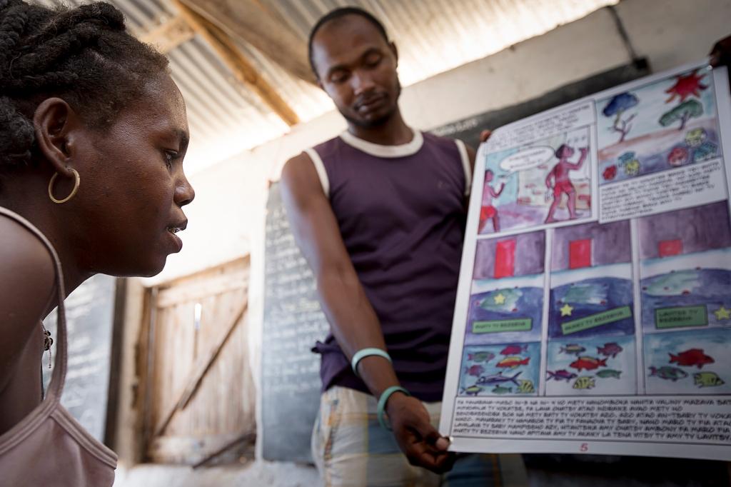 BV blue ventures haddadToni tulear madagascar photo story elections Velondriake